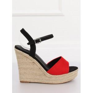 Originální dvoubarevné dámské sandály na léto