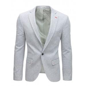 Pánské sako v šedé barvě