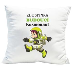 Originální polštářek pro malé kosmonauty