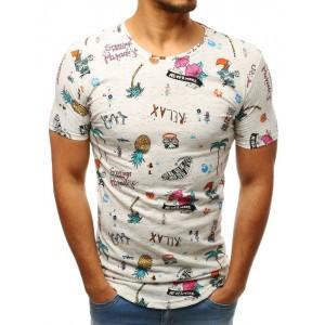 Originální pánské tričko s potiskem letních motivů