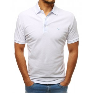 Stylová pánská polokošile bílé barvy