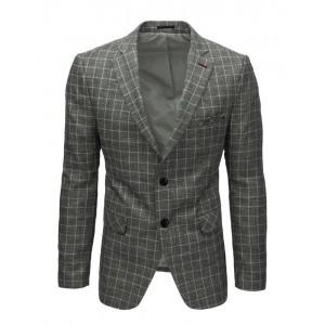 Stylové pánské sako v šedé barvě
