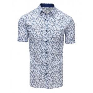 Luxusní pánská letní košile s krátkým rukávem