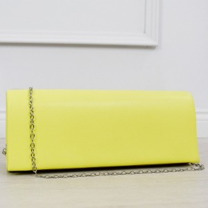 Trendy dámské psaníčko do ruky v letní žluté barvě