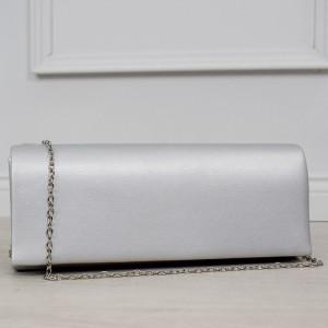 Elegantní stříbrné psaníčko se stříbrným řetízkem