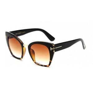 Elegantní dámské sluneční brýle černé barvy