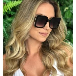 Stylové matné dámské sluneční brýle