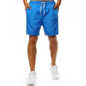 Trendy světle modré pánské plavky se zdrhovací šňůrkou v pase