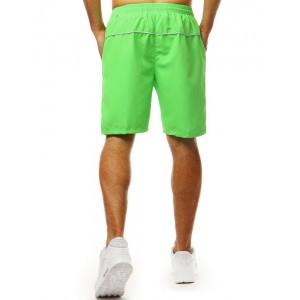 Stylové pánské plavky v trendy neonově zelené barvě