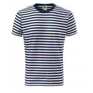Bavlněné pruhované tričko pro pány
