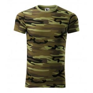 Army tričko v zelené barvě pro pány