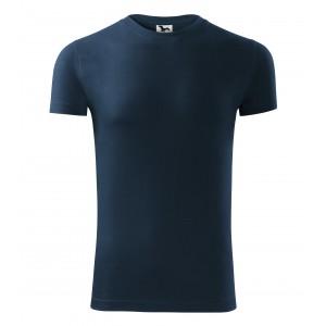 Tmavé tričko v modré barvě pro pány