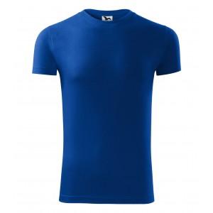 Tričko s krátkým rukávem v modré barvě
