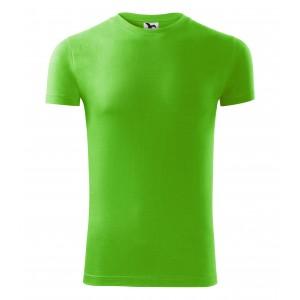 Stylové zelené pánské tričko z bavlny