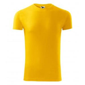 Žluté tričko s krátkým rukávem pro pány