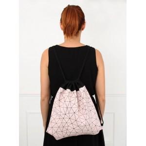 Levný růžový batoh pro dámy