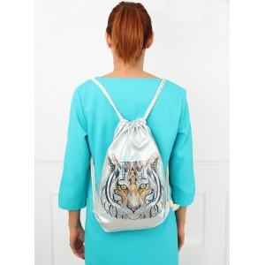 Kvalitní sportovní batoh s potiskem tygra