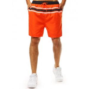 Pánské plavky v oranžové barvě