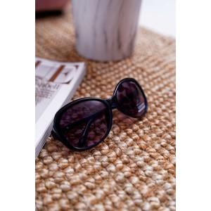 Originální modro černé sluneční dámské brýle s designem moucha