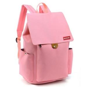 Sportovní batoh do školy v růžové barvě