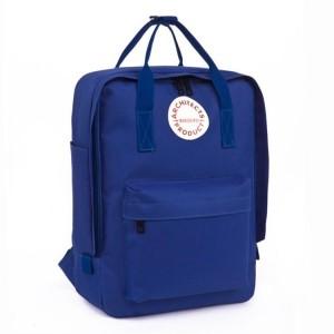 Elegantní batoh v modré barvě do školy