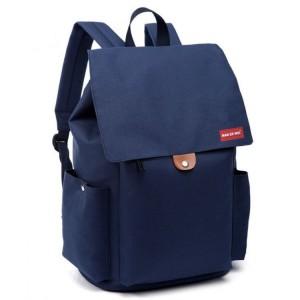 Dámský batoh v modré barvě na záda