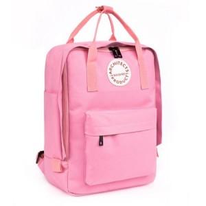 Dívčí batoh na záda v růžové barvě