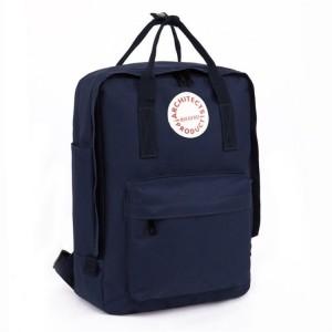 Trendy dámský batoh v modré barvě