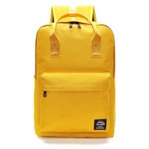 Sportovní batoh dámský ve žluté barvě