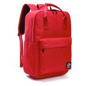 Sportovní batoh pro ženy v červené barvě