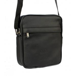 Pánská kabelka přes rameno v černé barvě