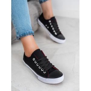 Dámské černé botasky