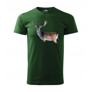 Pánské triko s jelenem pro myslivce