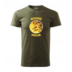 Pánské včelařské tričko s krátkým rukávem