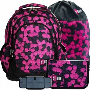 Dětský batoh do školy pro dívky s penálem