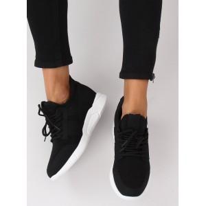 Moderní dámské tenisky černé barvy