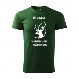 Kvalitní pánské tričko s mysliveckým motivem