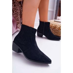 Trendové dámské kotníkové boty na nízkém podpatku