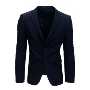 Moderní granátově modré pánské sako