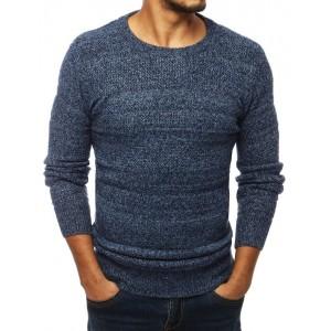 Modrý svetr pro pány