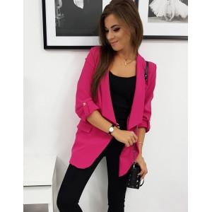 Dámské sako v růžové barvě