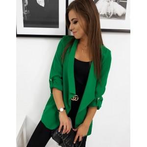 Zelené moderní sako pro dámy