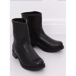 Pohodlná zateplená kotníková obuv s praktickým zipem