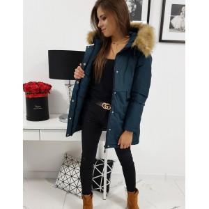 Moderní dámská zimní bunda s kapucí