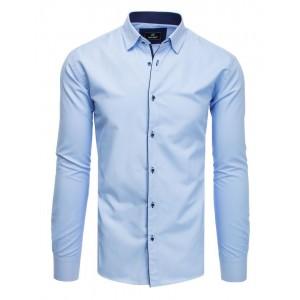 Luxusní pánská společenská košile světle modré barvy