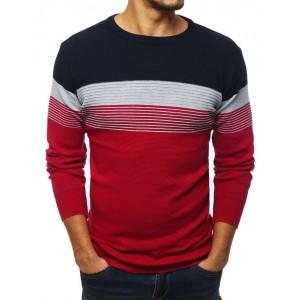 Pánský svetr v červené barvě