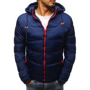 Moderní pánská zimní bunda s kapucí