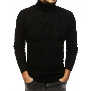 Černý pánský pulover
