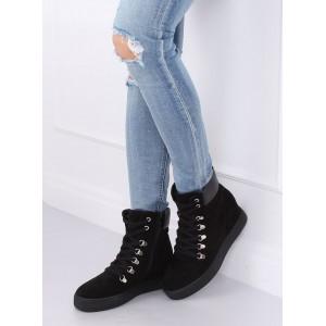 Černé dámské boty na zimu