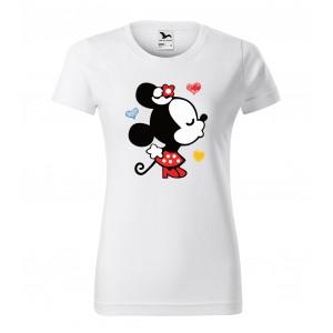 Dámské valentýnské tričko s krátkým rukávem